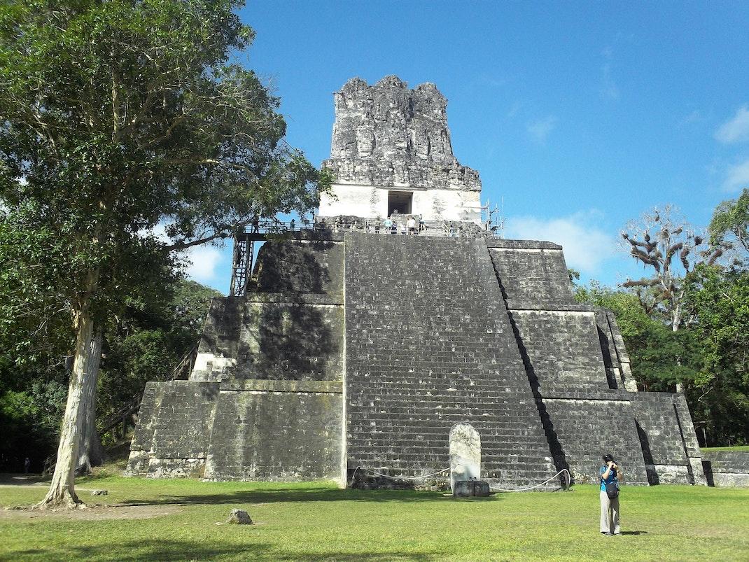Mayan temple Tikal in Guatemala