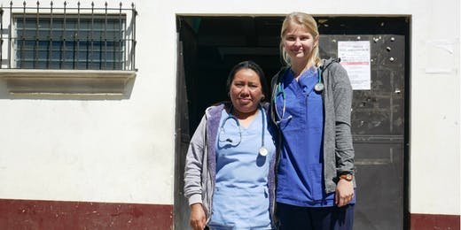 Healthcare internships in Guatemala