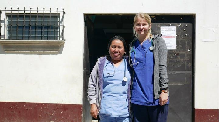 Healthcare internships in Guatemala