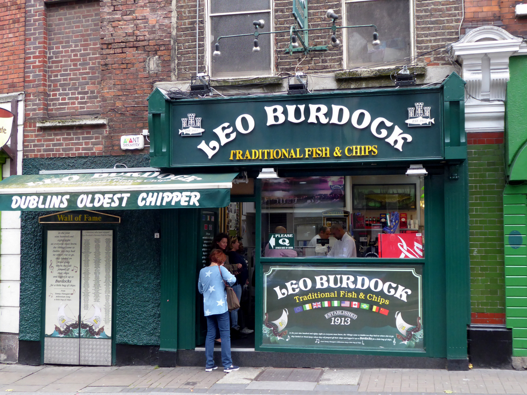 Dublin's Oldest Chipper for fish and chips in Ireland