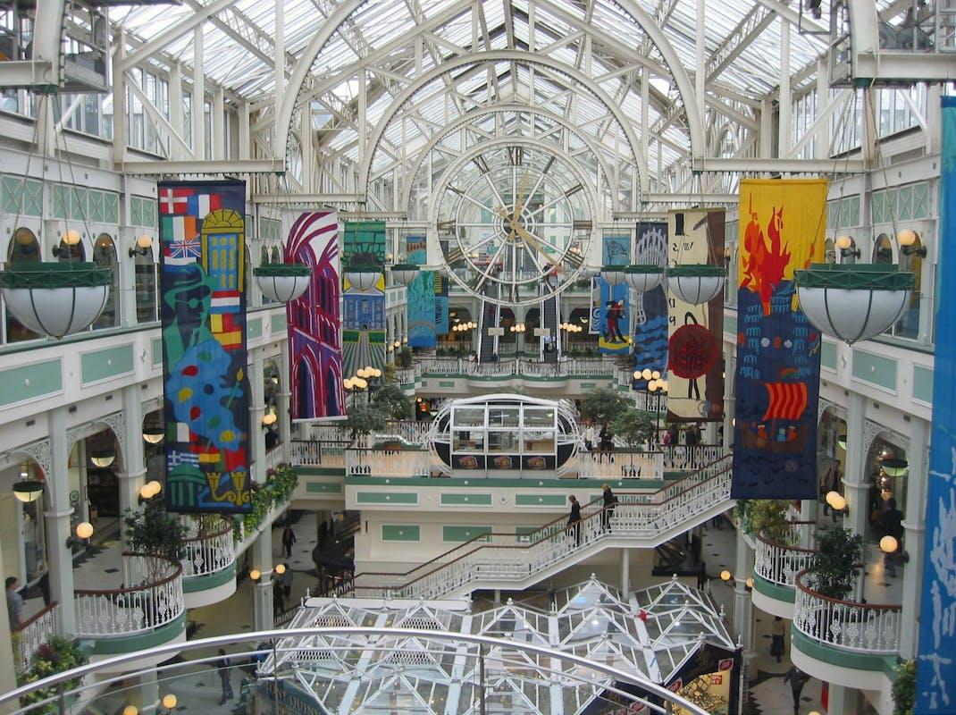 Stephen's Green Shopping Centre Grafton Street Dublin