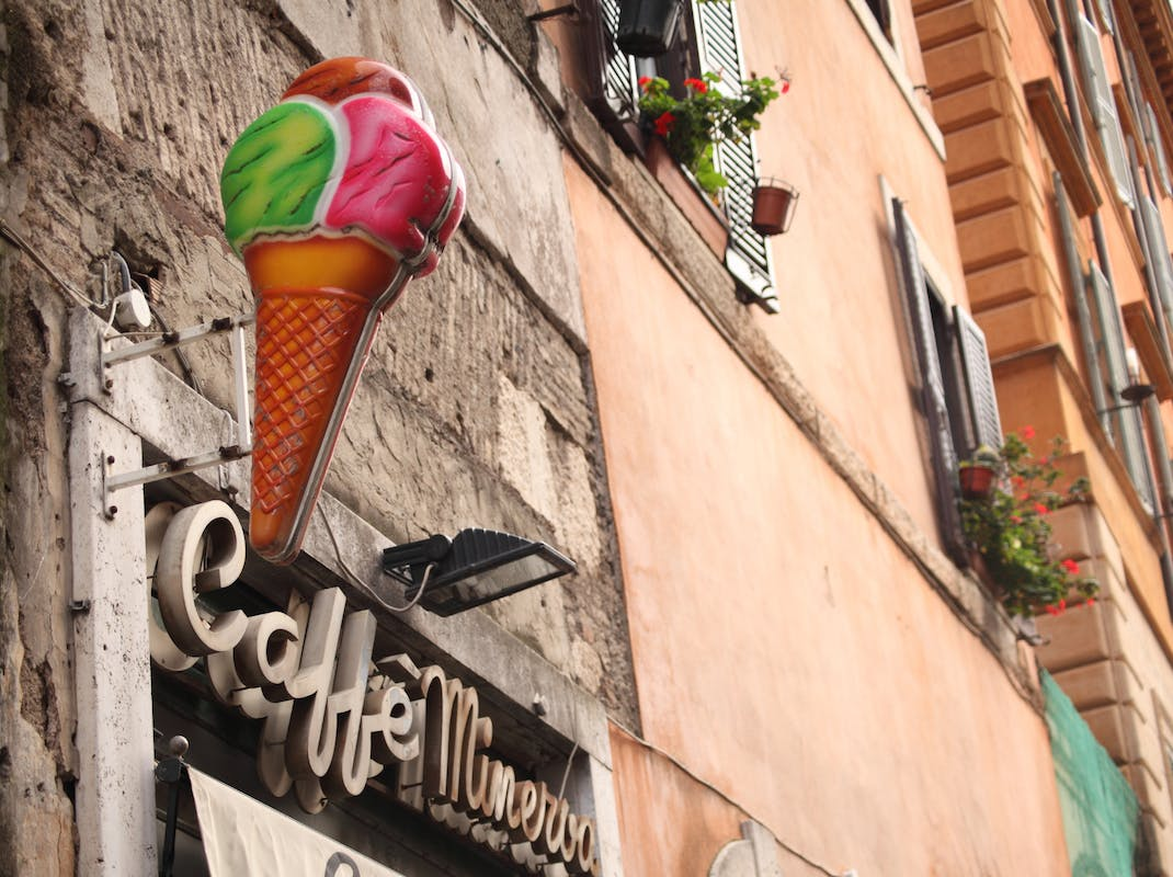 Gelato ice cream in Rome, Intern Abroad HQ