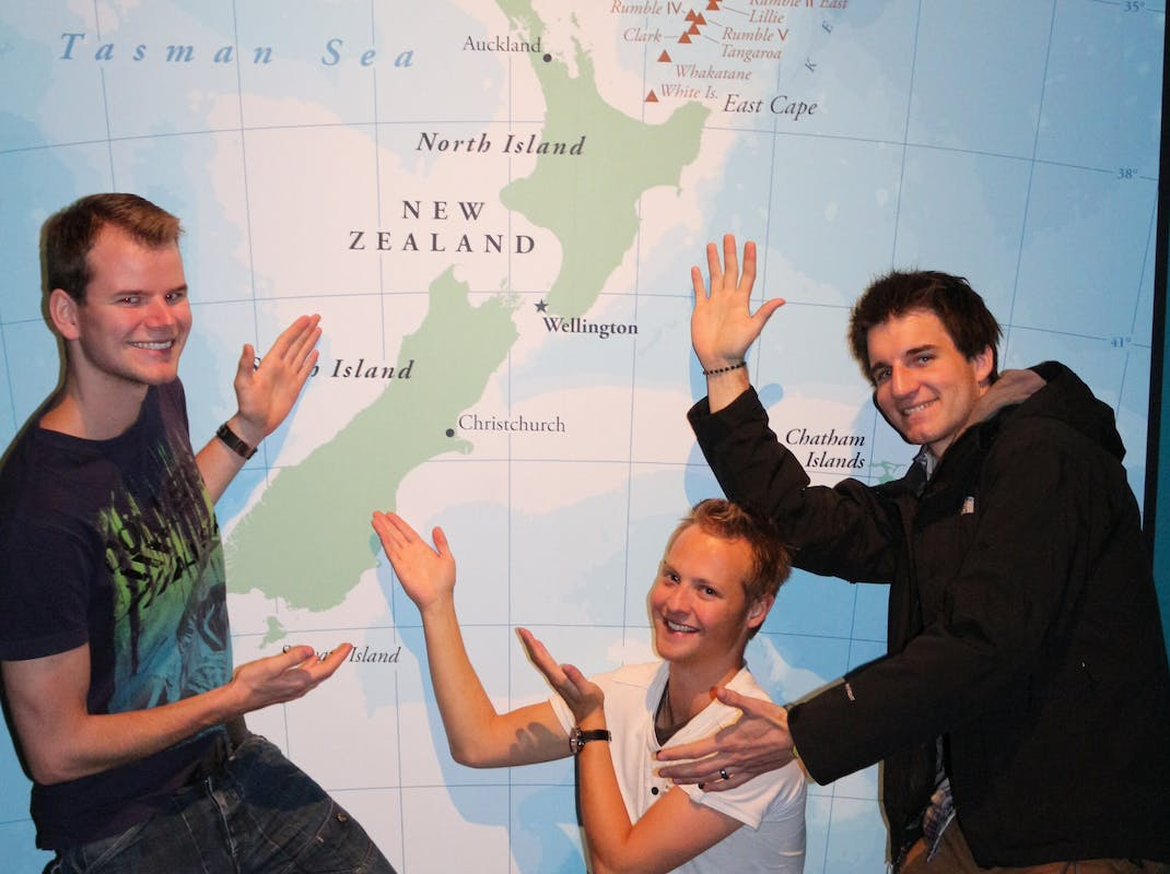 Interns in Auckland, intern in New Zealand