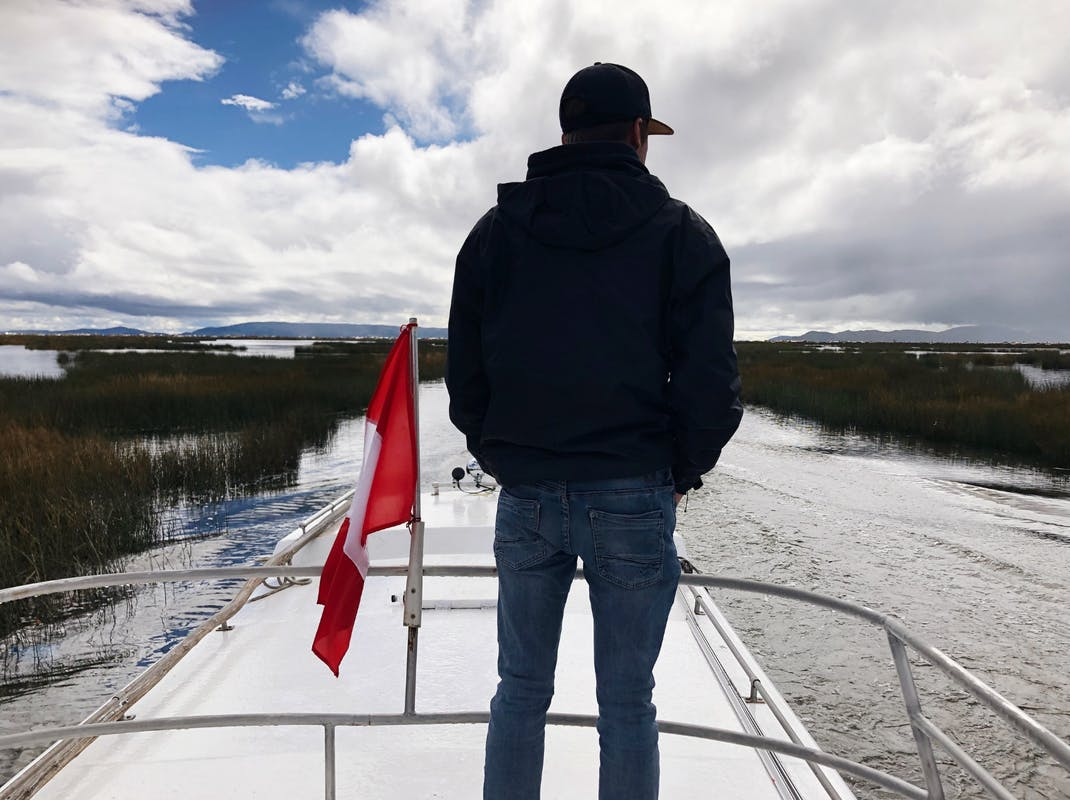 Intern on Lake Titicaca