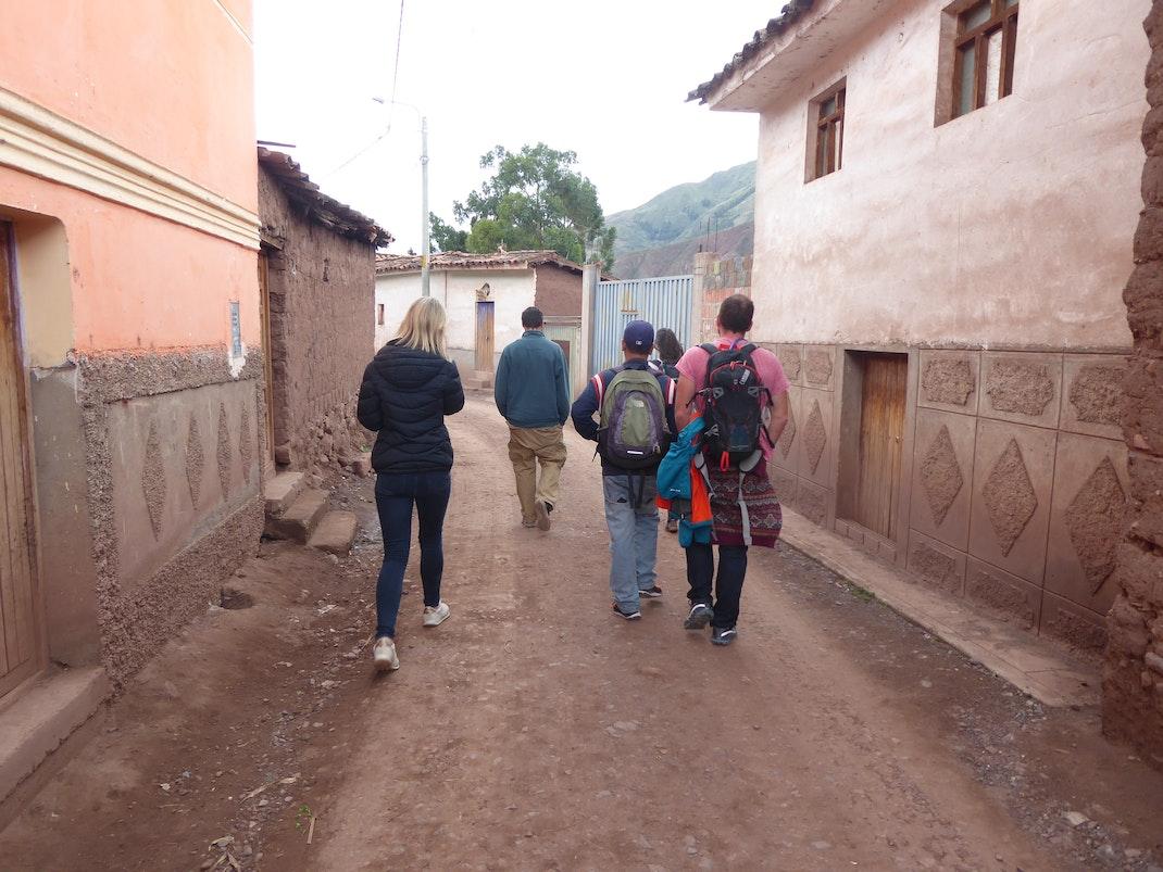 Exploring rural Cusco, Peru