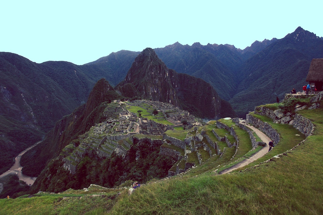 View of Machu Picchu, Cusco, Peru