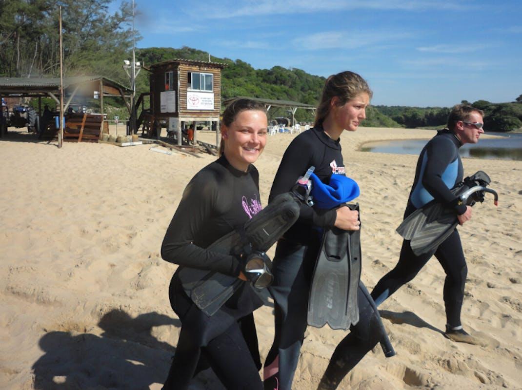 Marine Biology internships, beach launch, South Africa, Intern Abroad HQ