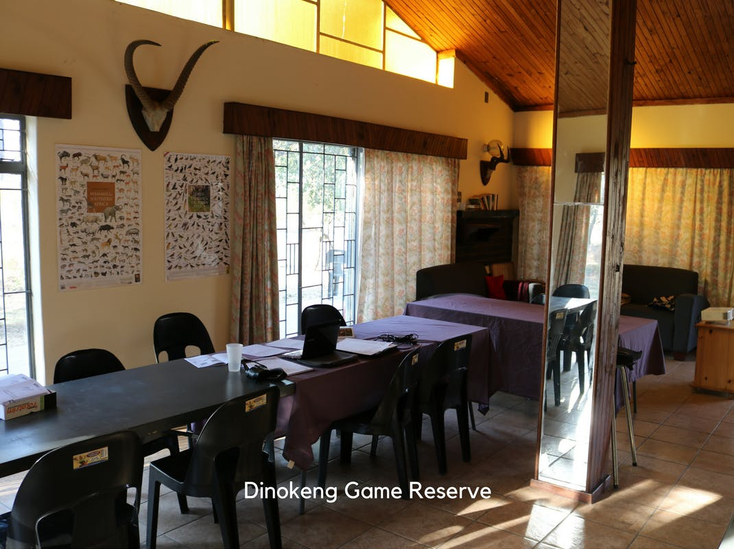 Internships in Dinokeng Game Reserve intern accommodation
