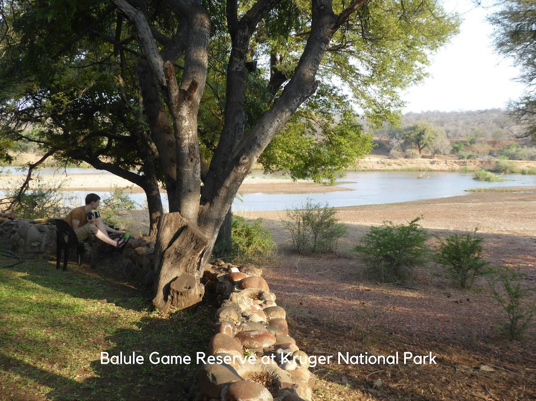 Internships in Balule Game Reserve at Kruger National Park intern enjoys the sprawling vistas