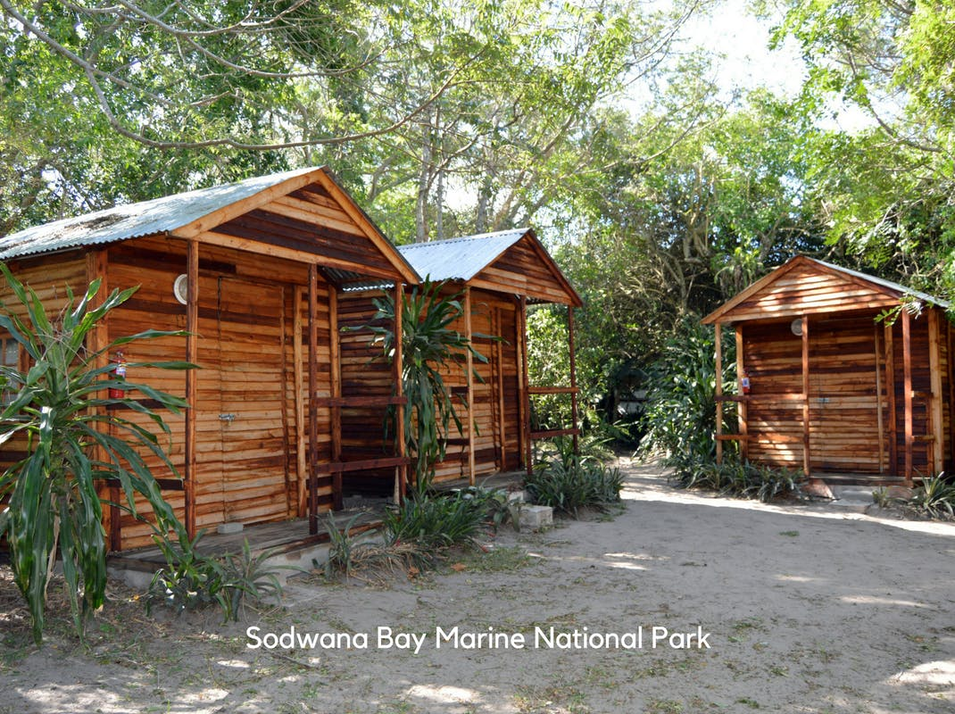 Marine Conservation Internships in Sodwana Bay intern cabin accommodation