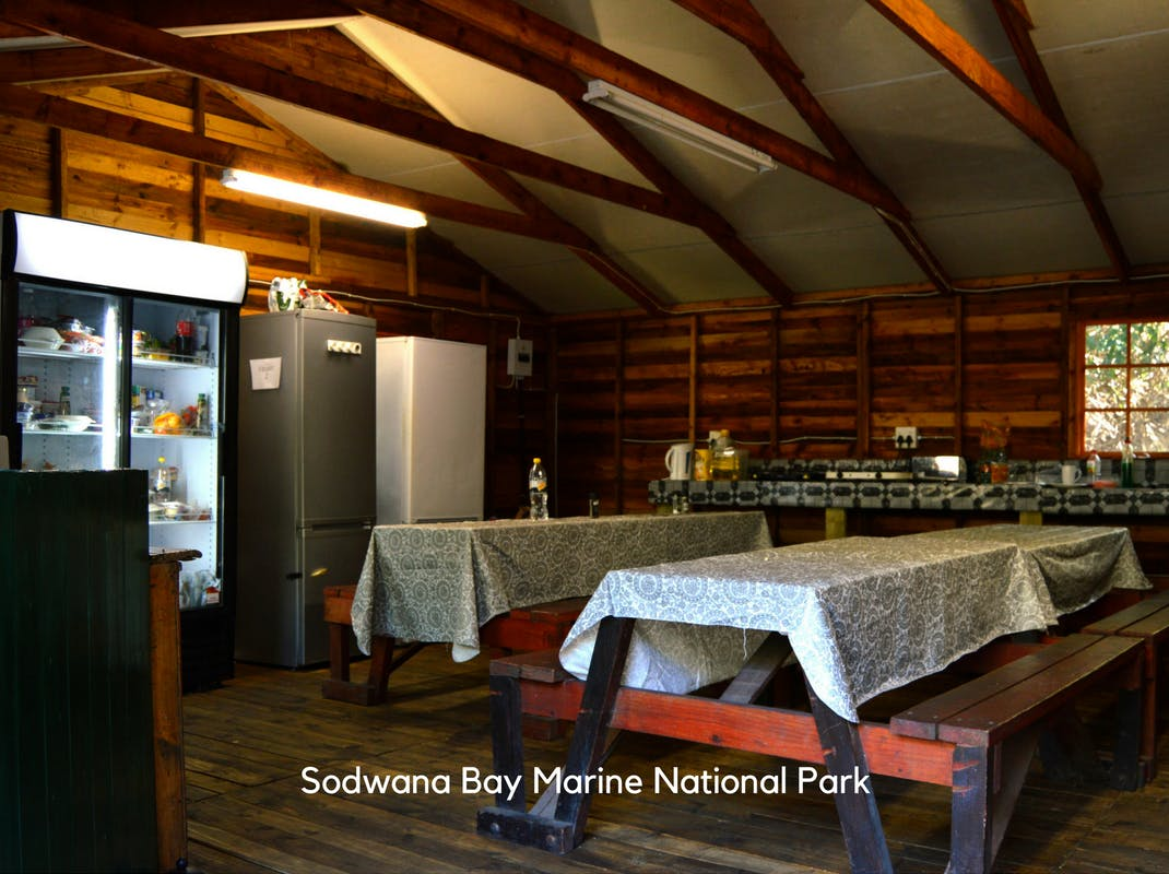 Marine Conservation Internships in Sodwana Bay intern kitchen and dining facilities