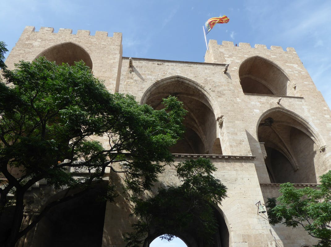 Torres de Serranos, part of the old city walls, which mark the entrance to the Old Quarter of Valencia, Intern Abroad HQ
