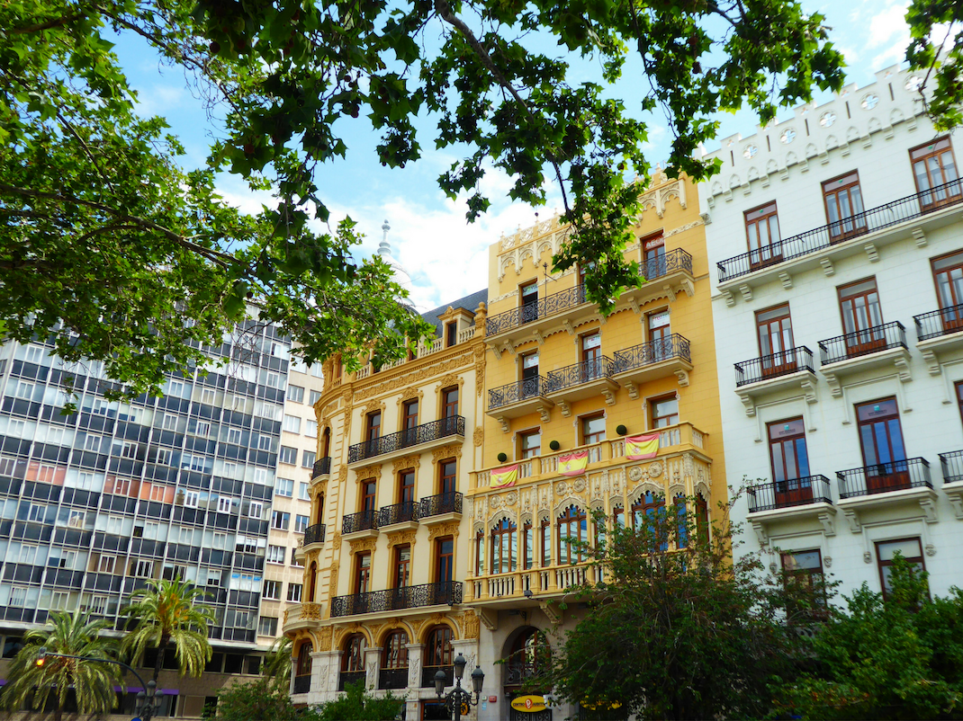 Apartment building in Valencia Spain, Intern Abroad HQ