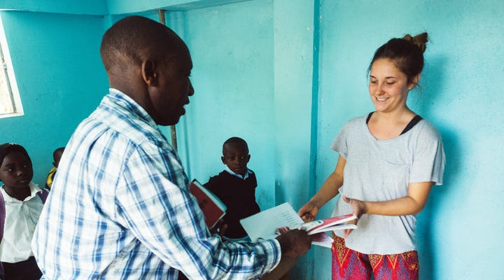 Remote Internship in Education Support out of Tanzania