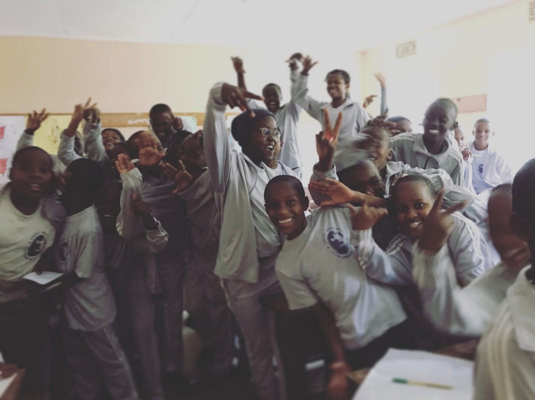 School children in Tanzania, Intern Abroad HQ
