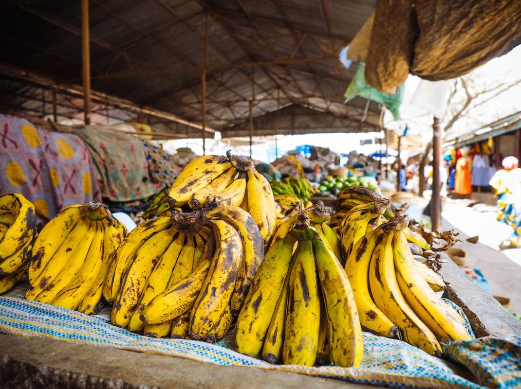 Food market in Arusha, Tanzania, Intern Abroad HQ