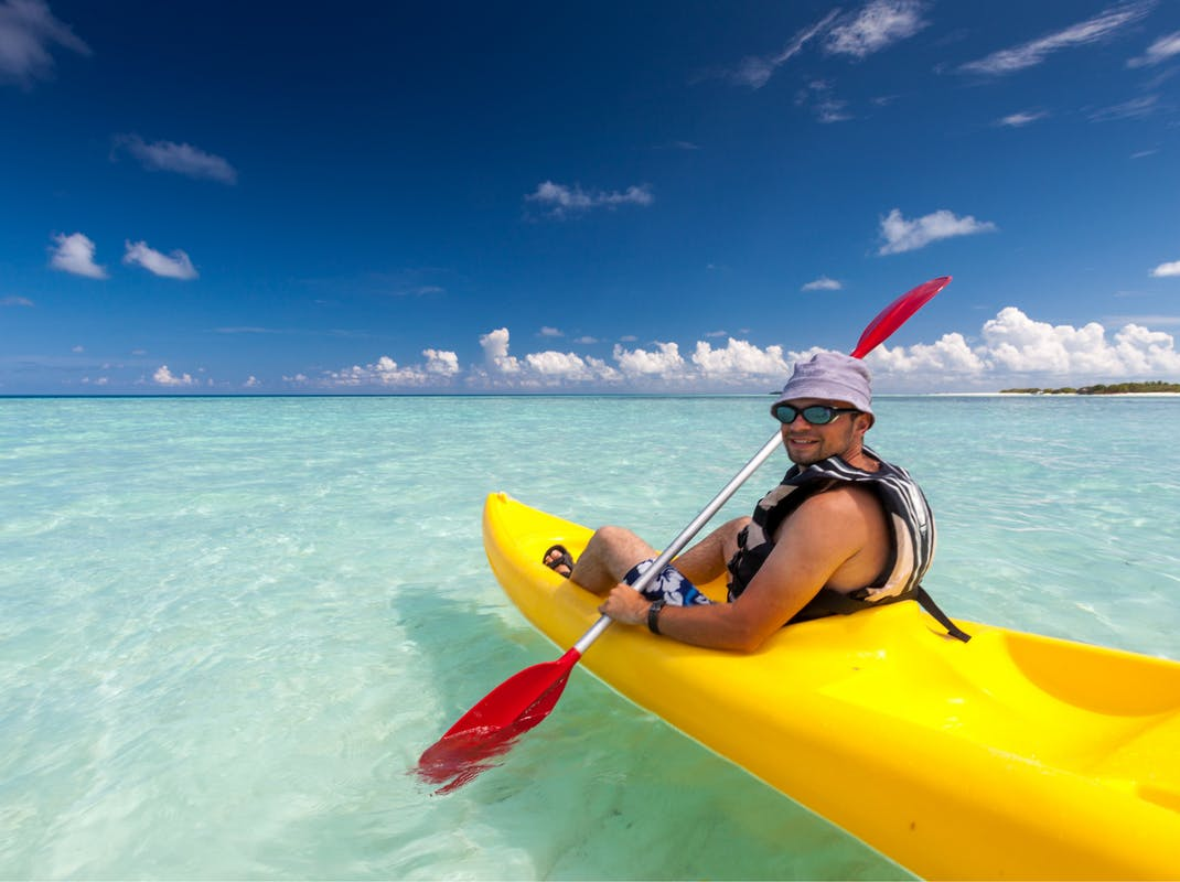 Kayaking in Zanzibar, Intern Abroad HQ