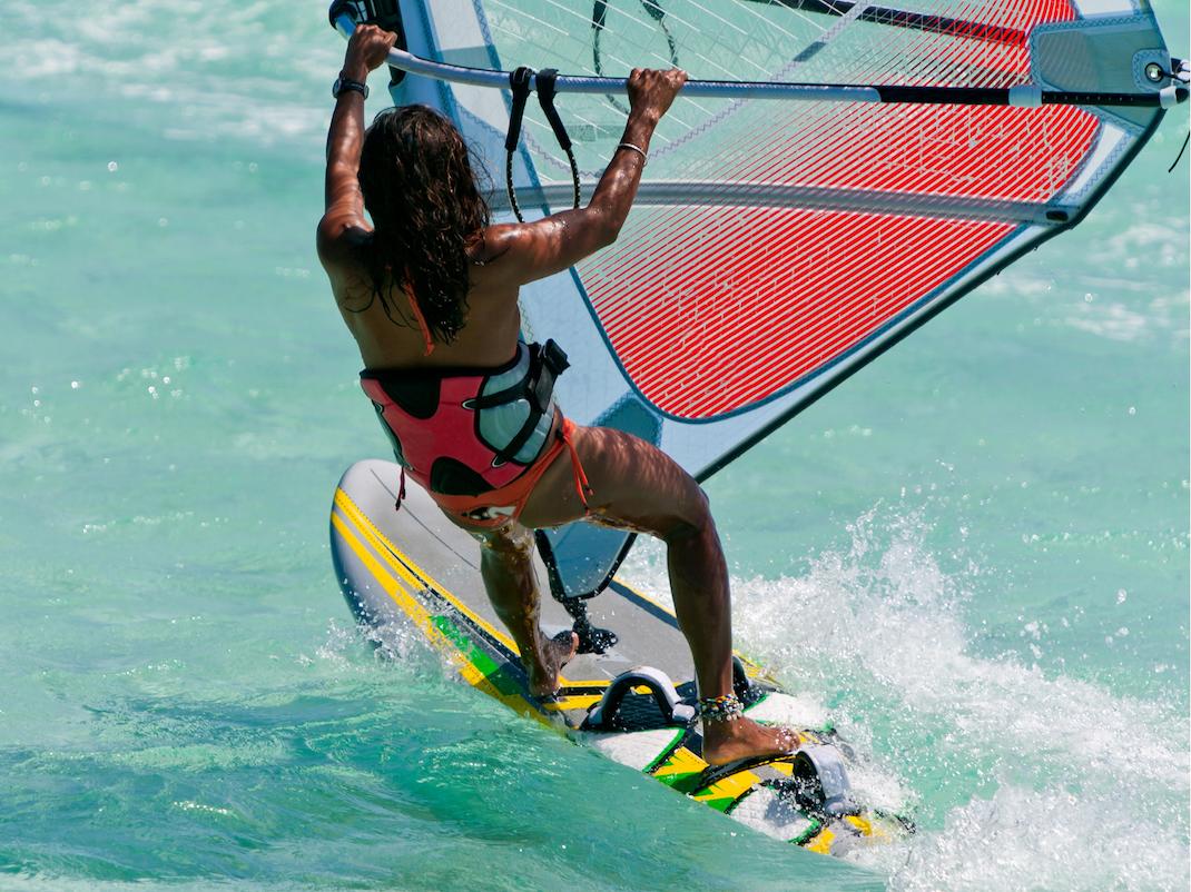 Learning to windsurf in Zanzibar, Intern Abroad HQ