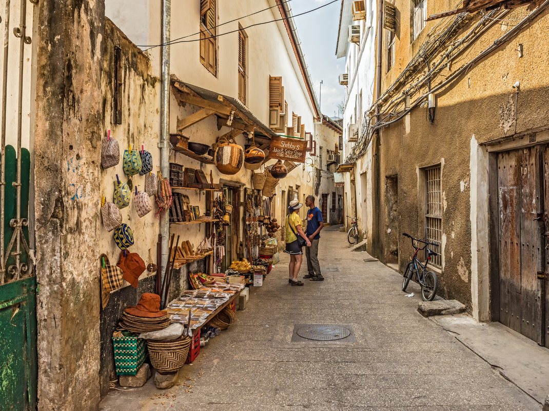 Streets of Stone Town in Zanzibar, Intern Abroad HQ