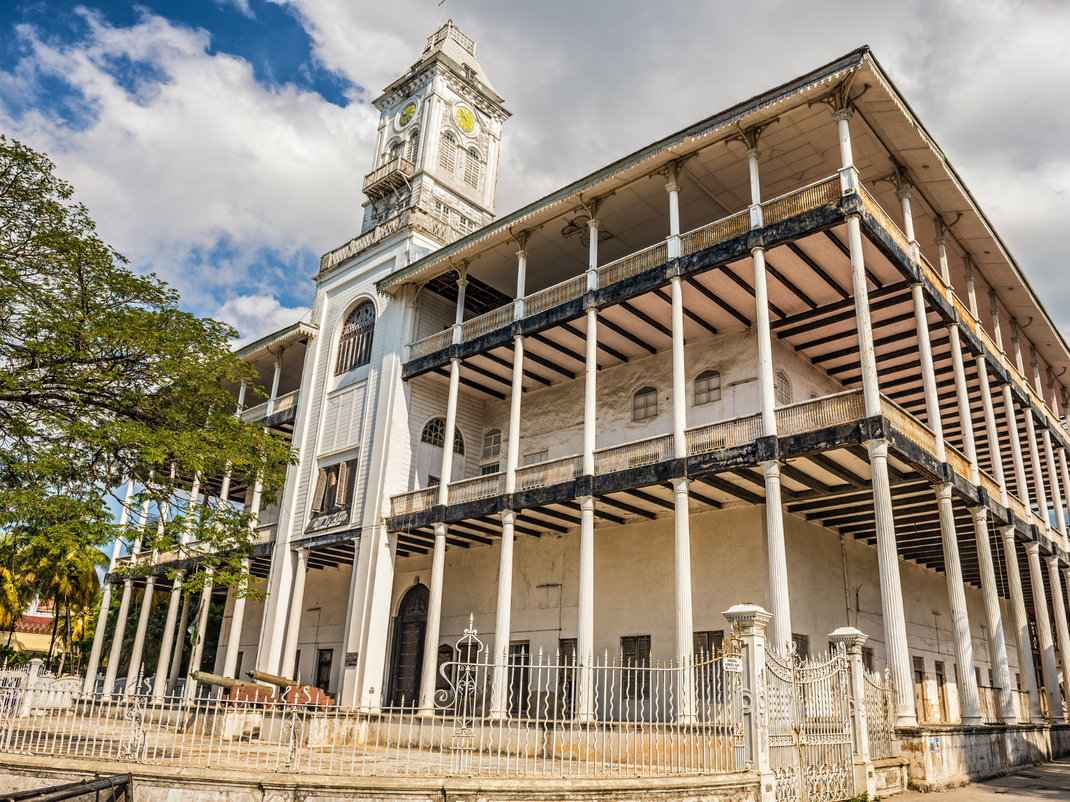 Historical building in Stone Town, Intern Abroad HQ