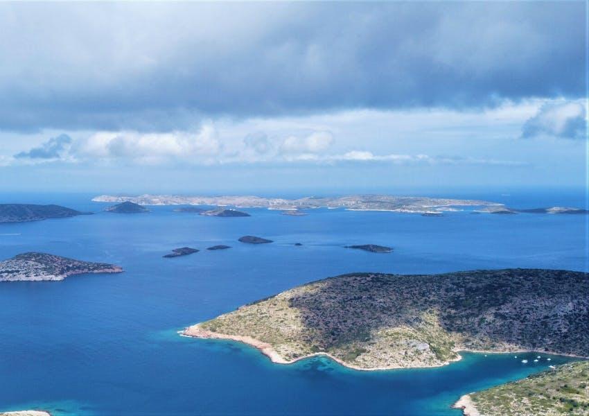 Population monitoring of cetaceans around Lipsi Island using drones