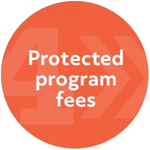 Flexible booking with Intern Abroad HQ: Protected program fee.