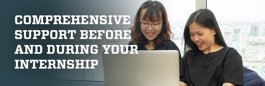 Comprehensive support before and during your program with Intern Abroad HQ.